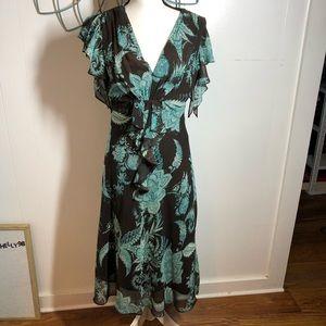 MSK Floral Dress